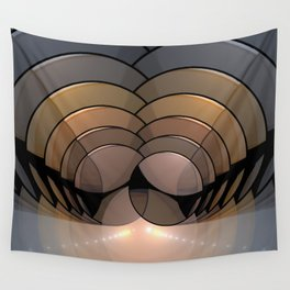 Above the Lights Wall Tapestry