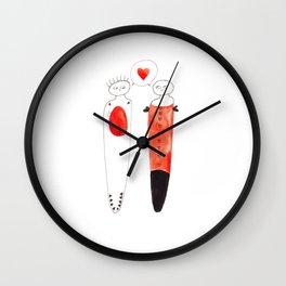 I Love you 1  Wall Clock