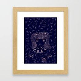 I am 'BOW'led over by you Framed Art Print