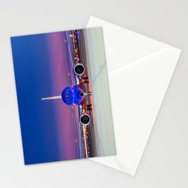 Face to face with a Boeing 737 Max 8 Stationery Cards