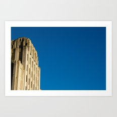Building with Blue Sky Art Print
