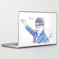 rushmore Laptop & iPad Skins featuring She's My Rushmore by nicoleskine