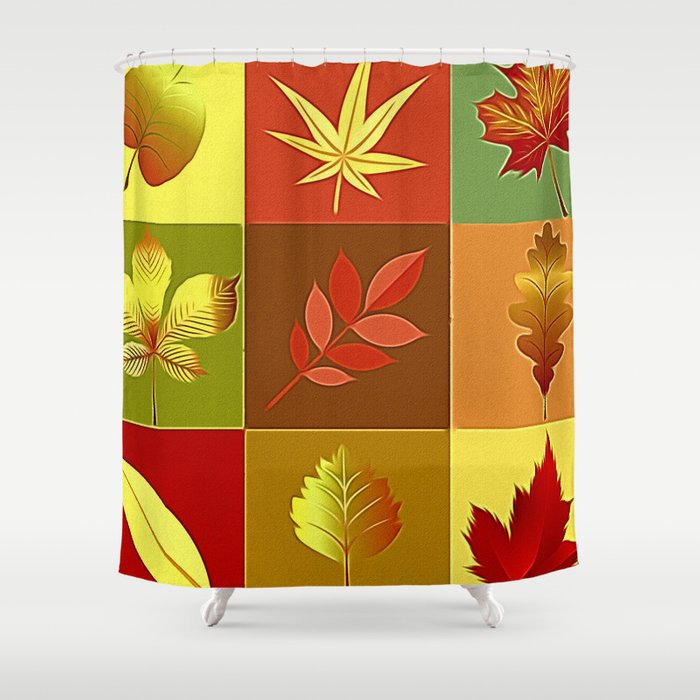 Autumn I Shower Curtain