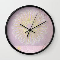 morocco Wall Clocks featuring Morocco Pink by ZenzPhotography