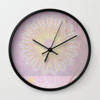 morocco Wall Clocks featuring Morocco Pink by ZenaZero