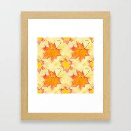 Autumn leaves #15 Framed Art Print