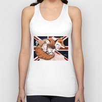 union jack Tank Tops featuring Union by Melpo