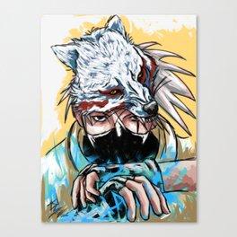 Abstract Kakashi Canvas Print