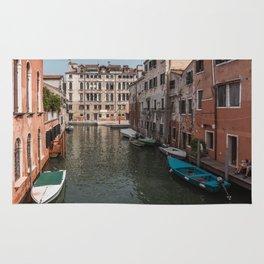 Boats in Venice Rug