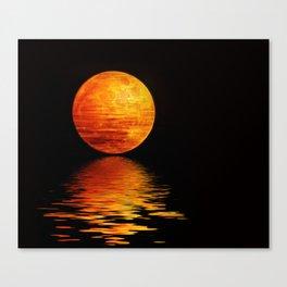 Mondscheinserenate Canvas Print