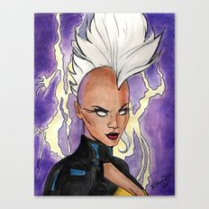 Fear The Storm Canvas Print