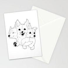 Corgerberus Stationery Cards