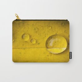Yellow drop Carry-All Pouch