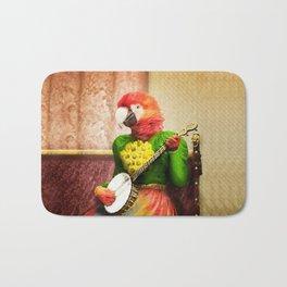 Banjo Birdy Plucks a Pretty Tune! Bath Mat