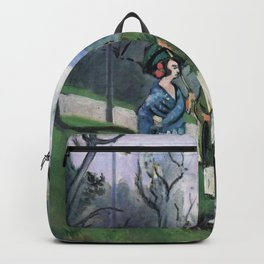Henri Matisse - Conversation under the Olive Trees - Exhibition Poster Backpack