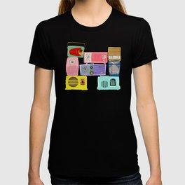 Vintage Colorful Radios T-shirt