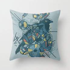 Bluebird Throw Pillow