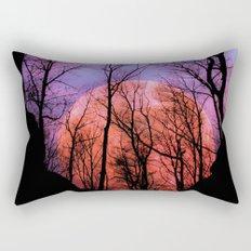 Moonrise Canyon Rectangular Pillow