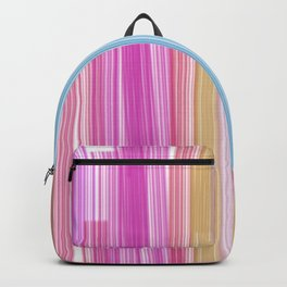 Design lines ink green - pink Backpack