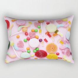Candy Print Rectangular Pillow