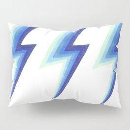Blue Bolts Pillow Sham