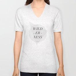 WILDERNESS — Unisex V-Neck