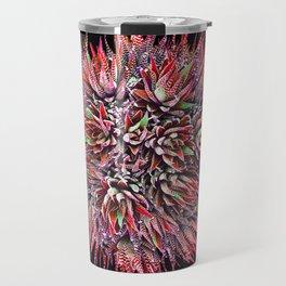 Cactus Crown 2. Red & Green #decor #buyart Travel Mug