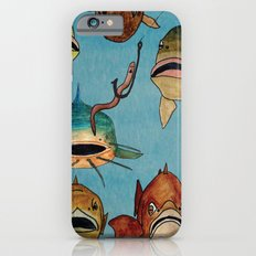 fishing with worms Slim Case iPhone 6s