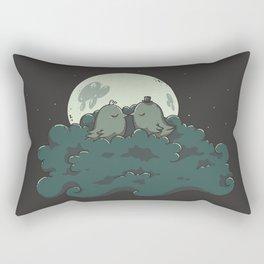 Moonlight Kiss Rectangular Pillow