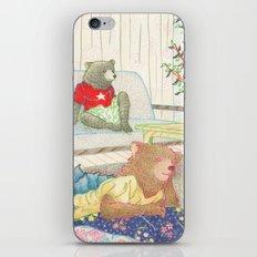 Everyday Animals- Little Bears lounge around iPhone & iPod Skin