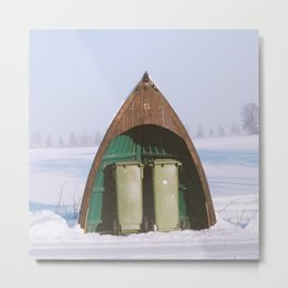 Norway's Winter Creative Recycling Metal Print