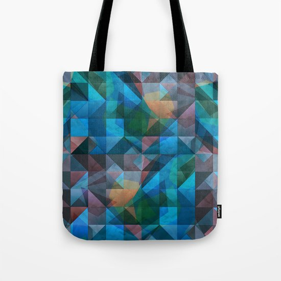triangular shapes of power Tote Bag