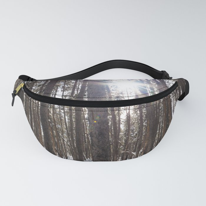 Yellowstone National Park - Lodgepole Forest 2 Fanny Pack
