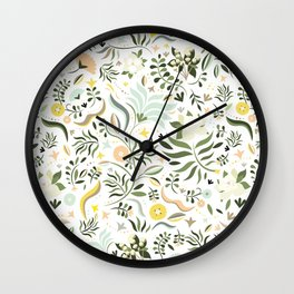 Spring at the Farmhouse Wall Clock