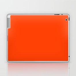 Bright Fluorescent Neon Orange Laptop & iPad Skin