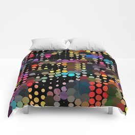 forest of dots Comforters