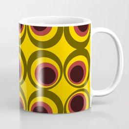 Psychedelic yellow Coffee Mug