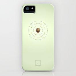 17 Chlorine - Atomic Poster iPhone Case