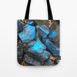 NVSV SPCS_blue rocks Tote Bag