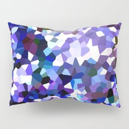 Ultraviolet Mountains Moon Love Pillow Sham