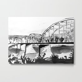 Northeastern Pennsylvania Mining Town Metal Print