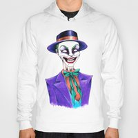 joker Hoodies featuring JOKER by ReadThisVA
