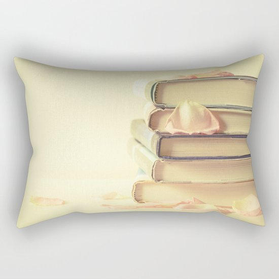 She Wrote Stories and Kept Them Quietly in Her Heart Rectangular Pillow