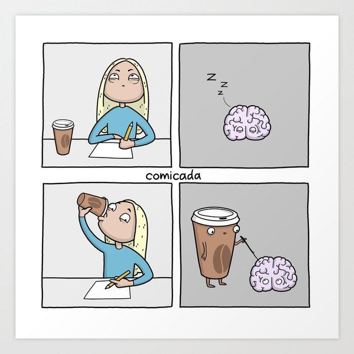 Brain Kunstdrucke