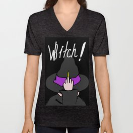 WBITCH! Unisex V-Neck