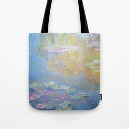 Monet water lilies 1908 Tote Bag