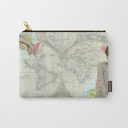 Feminine Collage I Carry-All Pouch