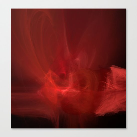 The Color of Passion Canvas Print