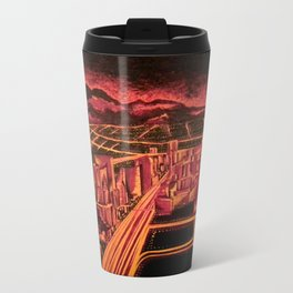 Las Vegas Metal Travel Mug