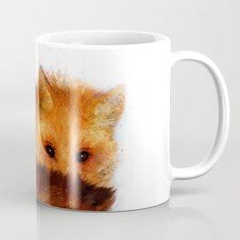 Shy Red Fox Coffee Mug
